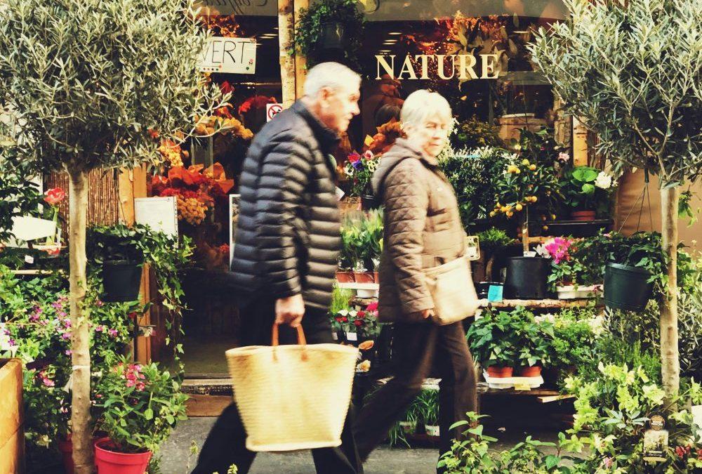Find frem til en blomsterforretning i Nakskov